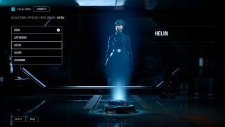 Menú filtrado de Star Wars Battlefront II