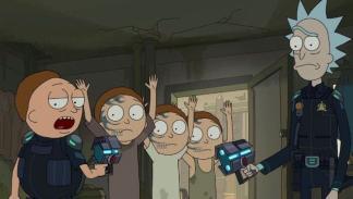 Rick y Morty 03x07 - Historias de la Ciudadela