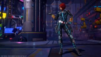 Viuda Negra en Marvel vs. Capcom Infinite