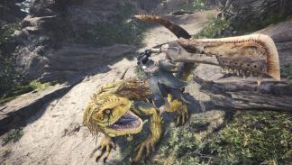 Imágenes de la beta de Monster Hunter World para PS4