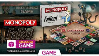 Monopoly de Fallout en castellano exclusivo de GAME