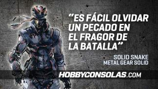 Citas Metal Gear Solid