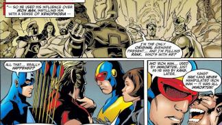 Siempre Vengadores - El gran cómic de Buskiek y Pacheco
