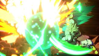 Broly en Dragon Ball FighterZ
