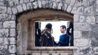 Jon Nieve y Cersei Lannister en Dubrovnik