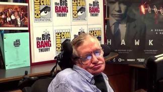 Stephen Hawking en una entrevista.