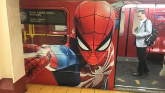 Así es el tren de Spider-Man para PS4