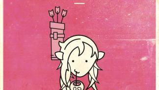 Logos minimalistas de los personajes de la primera temporada
