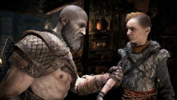 God of War PS4 Kratos