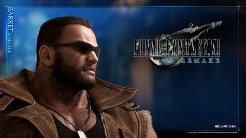 Final Fantasy VII Remake Barret