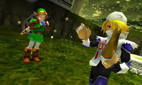 The Legend of Zelda Ocarina of Time llegará a Wii U