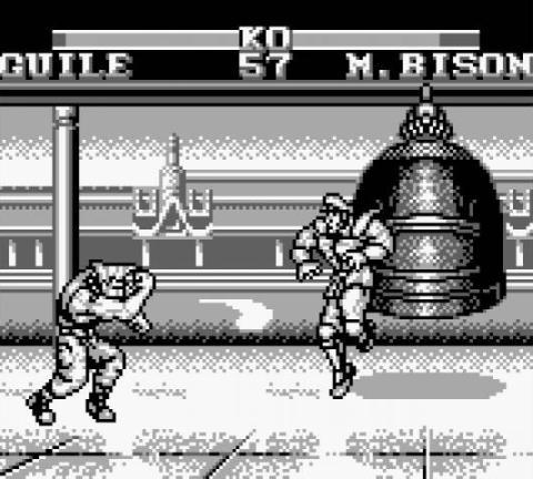 Resultado de imagen de street fighter 2 gameboy