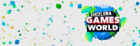 Barcelona Games World con logo