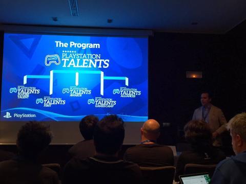 Roberto Yeste hablando de las ramas de PlayStation Talents