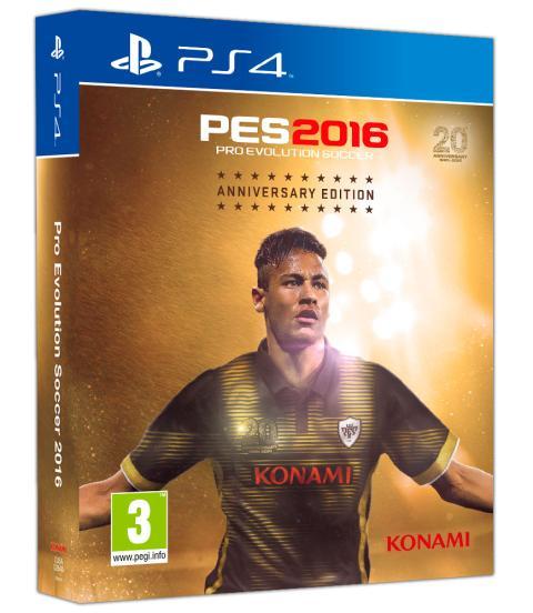 Caja PES 2016 PS4