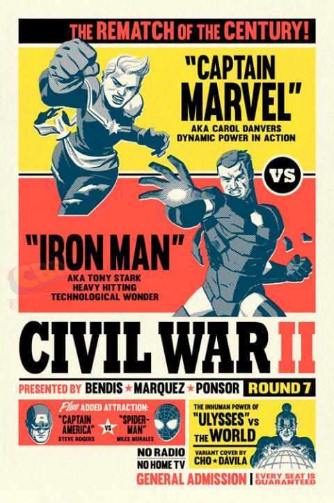 Civil War II: Iron Man vs Capitana Marvel