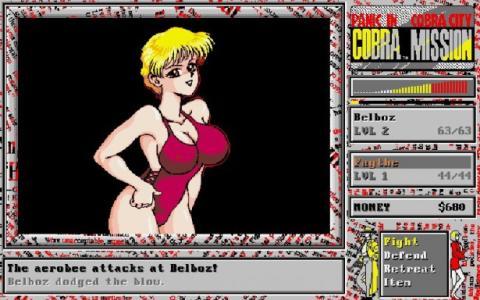 Cobra Mission - Juegos Eróticos