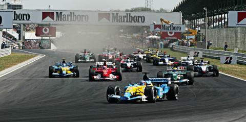 Fórmula 1 Renault Ferrari Mercedes