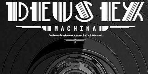 Deus Ex Machina cuaderno de videojuegos