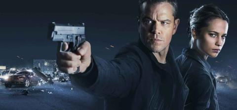 Jason Bourne - Matt Damon y Alicia Vikander