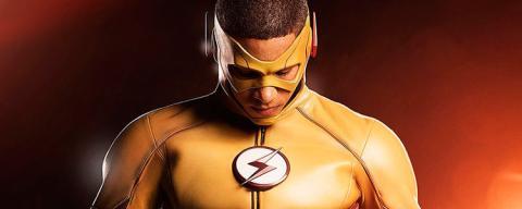 Kid Flash en la tercera temporada de The Flash