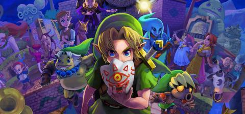 The Legend of Zelda: Majora's Mask Arte 3DS