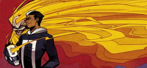 Motorista Fantasma, de All-New Ghost Rider, Robbie Reyes