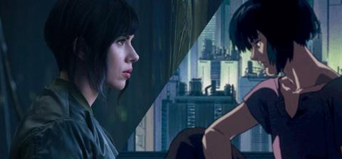 Scarlett Johansson protagonista Ghost in the Shell