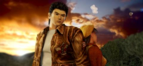 Shenmue artwork, shenmue dreamcast,