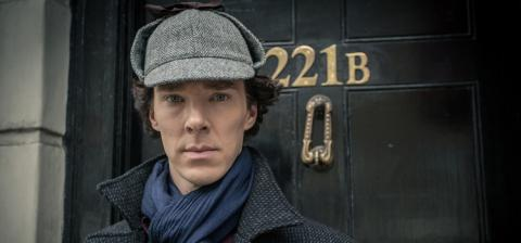 Benedict Cumberbatch, Holmes, serie