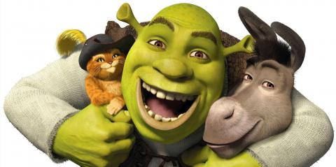 Asno Gato con Botas Shrek