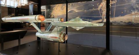 La USS Enterprise de Star Trek es restaurada y expuesta en el Smithsonian