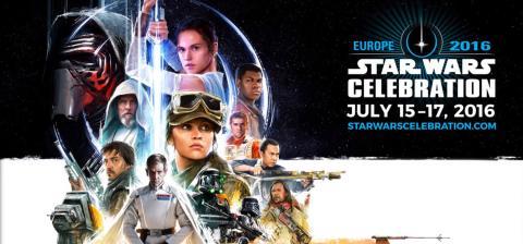 Star Wars Celebration. Londres 2016. Conferencias en directo