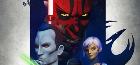 Poster Star Wars Rebels Tercera Temporada