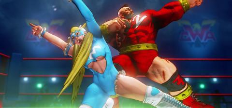 Street Fighter V principal