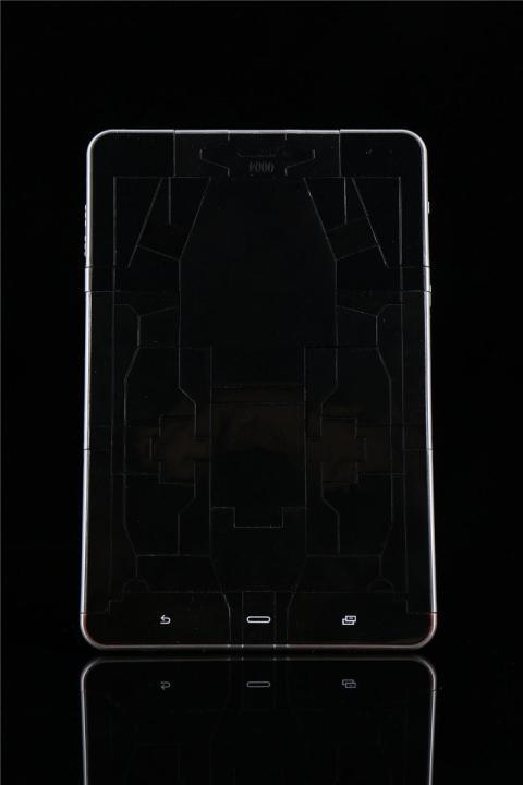 Tableta Trasnsformer de Hasbro para la Comic Con