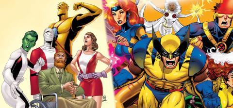 11 Superhéroes similares de DC y Marvel