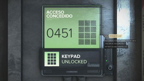 Deus Ex: Mankind Divided - Listado de códigos