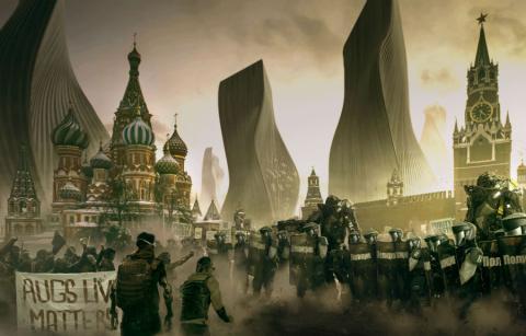 Moscú Deus Ex Mankind Divided