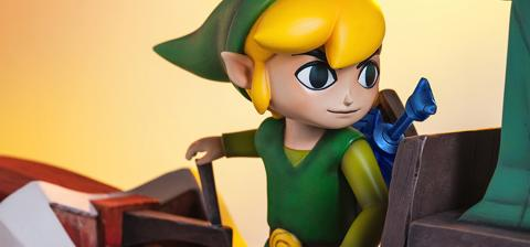​   ​The Legend Of Zelda: Link on the King of Red Lions. First4figures