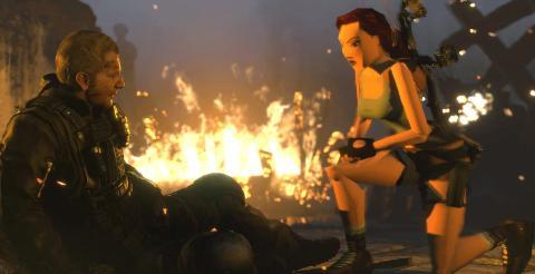Rise of the Tomb Raider PS4 con la Lara original