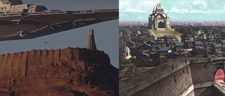 Rogue One ciudad amurallada trailer