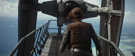 Rogue one tie fighter jyn erso trailer