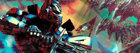 Transformers: The last knight, Optimus Primer lucha contra una nueva amenaza