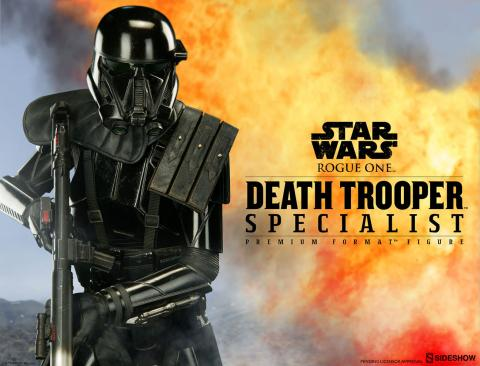 Death Trooper. Premium Format Sideshow Collectibles. Rogue One