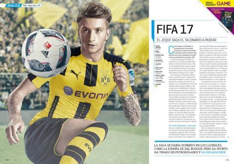 Hobby Consolas 303 Análisis de FIFA 17