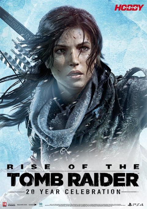 Hobby Consolas 303 Póster Rise of the Tomb Raider 20 Aniversario