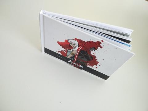 Libro de arte de Aragami