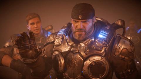 Marcus Fenix en Gears of War 4