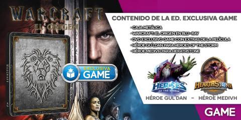 Warcraft Blu-Ray en GAME